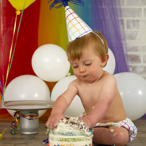 Rainbow 1st Birthday
